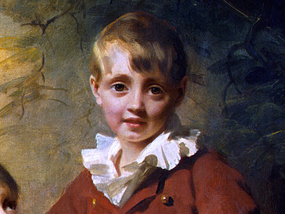 Sir Henry Raeburn The Binning Children [detail #1] - Canvas Art Print