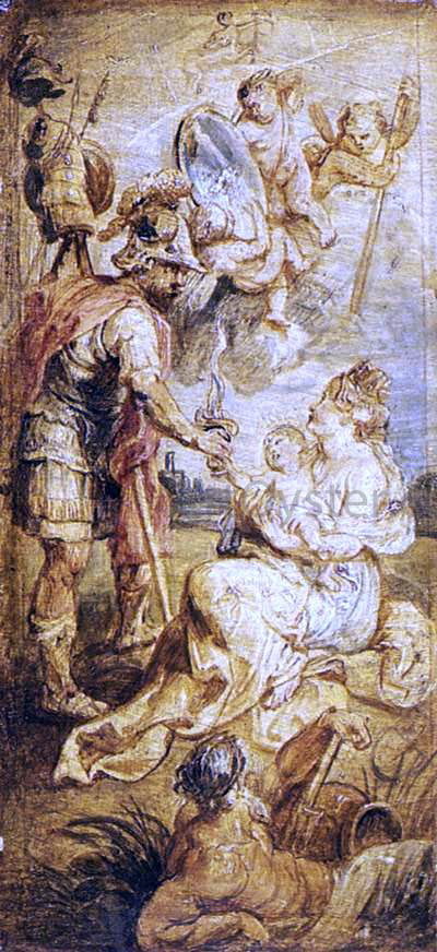 Peter Paul Rubens The Birth of Henri IV of France - Canvas Art Print