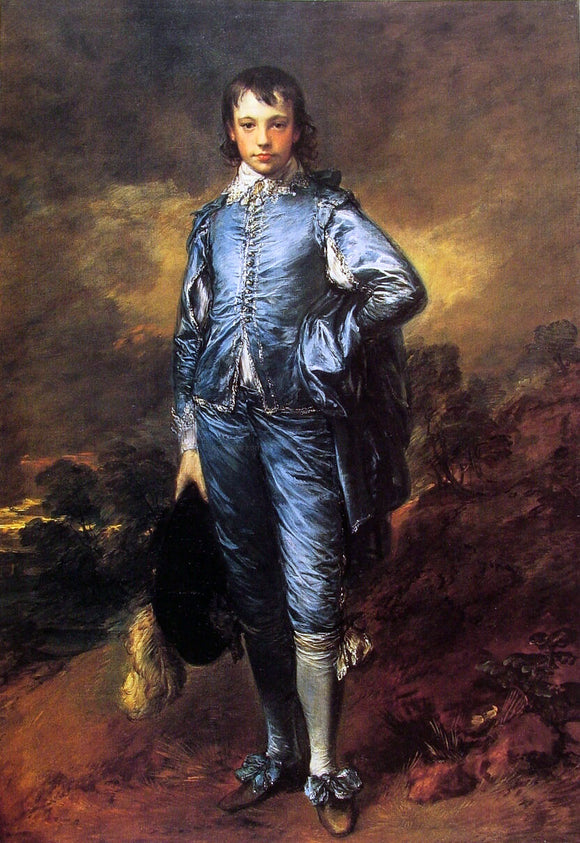 Thomas Gainsborough The Blue Boy (Jonathan Buttall) - Canvas Art Print
