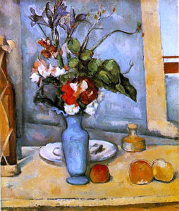 Paul Cezanne The Blue Vase - Canvas Art Print