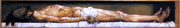 The Younger Hans Holbein The Body of the Dead Christ in the Tomb - Canvas Art Print