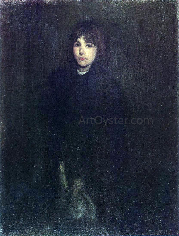 James McNeill Whistler The Boy in a Cloak - Canvas Art Print