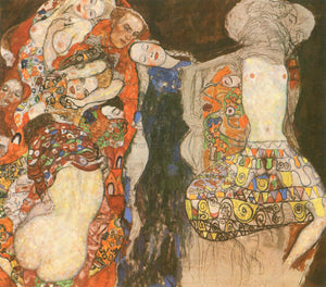 Gustav Klimt The Bride (unfinished) - Canvas Art Print