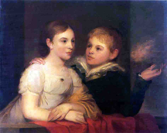 Thomas Sully The Brinton Children - Canvas Art Print