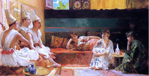 Henry Siddons Mowbray The Calenders - Canvas Art Print