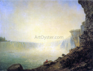Rembrandt Peale The Canadian Side of Niagara Falls, Platform Rock - Canvas Art Print