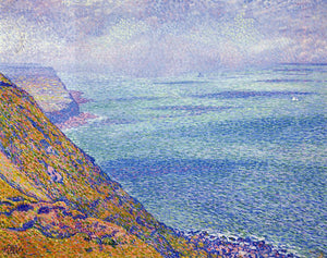 Theo Van Rysselberghe The Cap Gris Nez, Foggy Weather - Canvas Art Print
