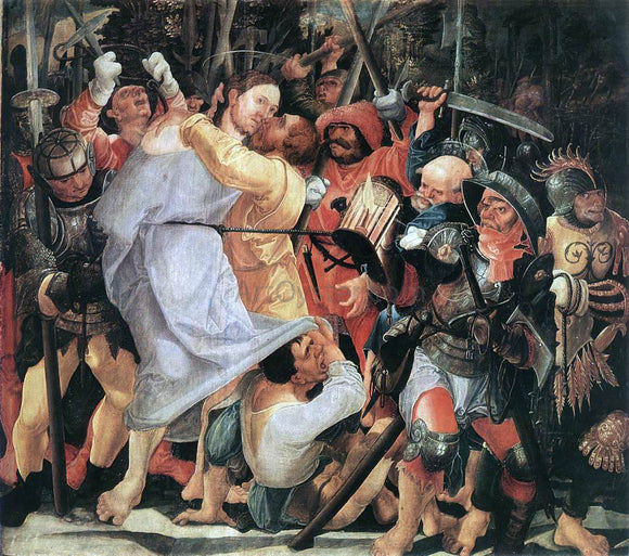 Wolf Huber The Capture of Christ - Canvas Art Print