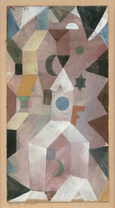 Paul Klee The Chapel - Canvas Art Print