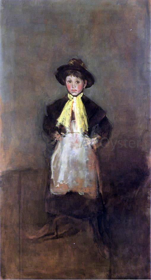 James McNeill Whistler The Chelsea Girl - Canvas Art Print