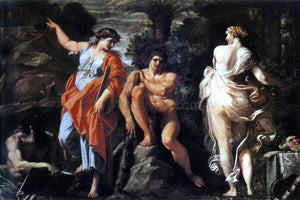 Annibale Carracci The Choice of Heracles - Canvas Art Print