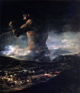 Francisco Jose de Goya Y Lucientes The Colossus - Canvas Art Print
