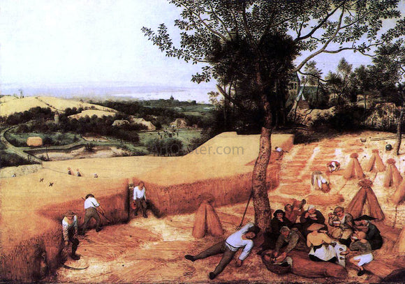 The Elder Pieter Bruegel The Corn Harvest (August) - Canvas Art Print