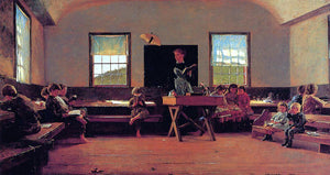 Winslow Homer The Country School - Canvas Art Print