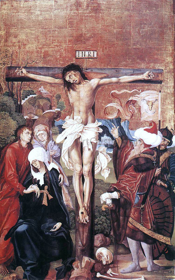 Master M S The Crucifixion - Canvas Art Print