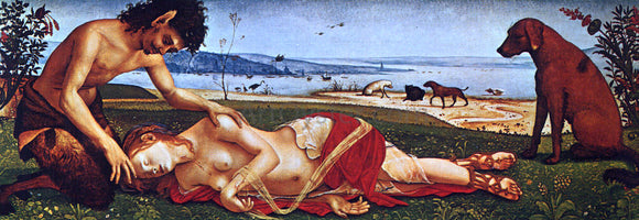 Piero Di Cosimo The Death of Procris - Canvas Art Print