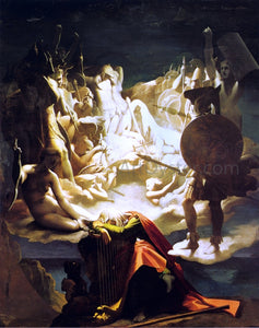 Jean-Auguste-Dominique Ingres The Dream of Ossian - Canvas Art Print