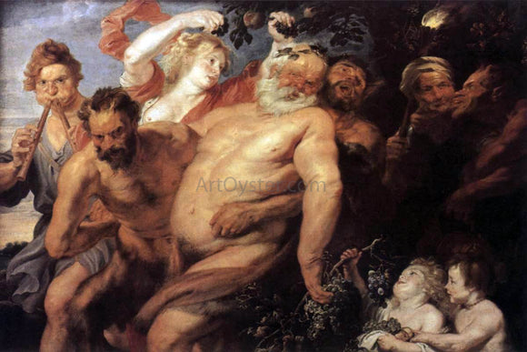 Peter Paul Rubens The Drunken Silenus - Canvas Art Print