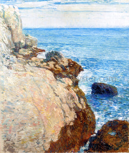 Frederick Childe Hassam The East Headland, Appledore - Isles of Shoals - Canvas Art Print