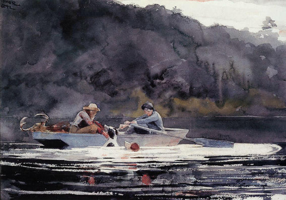 Winslow Homer The End of the Hunt - Canvas Art Print