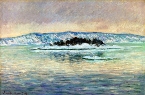 Claude Oscar Monet The Fjord, near Christiania - Canvas Art Print