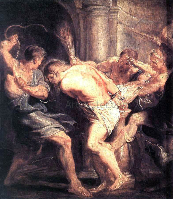 Peter Paul Rubens The Flagellation of Christ - Canvas Art Print