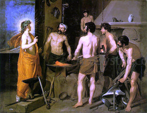 Diego Rodriguez De Silva Velazquez The Forge of Vulcan - Canvas Art Print
