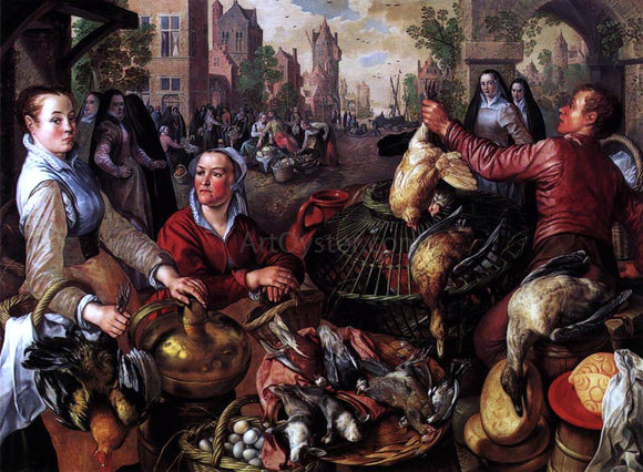 Joachim Beuckelaer The Four Elements: Air - Canvas Art Print