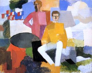 Roger De la Fresnaye The Fourteenth of July - Canvas Art Print