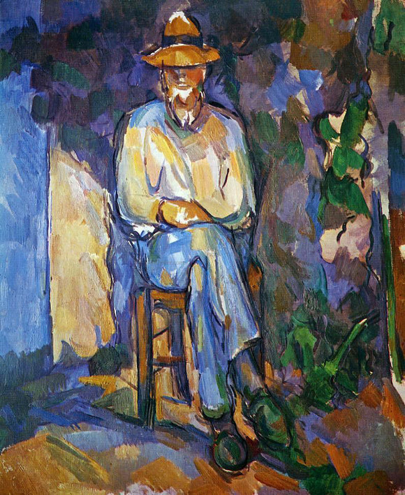 Paul Cezanne The Gardener - Canvas Art Print