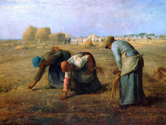 Jean-Francois Millet The Gleaners - Canvas Art Print