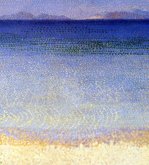 Henri Edmond Cross The Golden Isles - Canvas Art Print