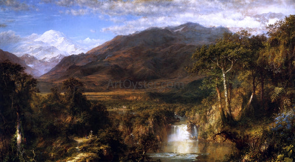 Frederic Edwin Church The Heart of the Andes - Canvas Art Print