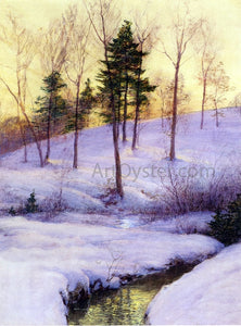 Walter Launt Palmer The Hillside - Canvas Art Print