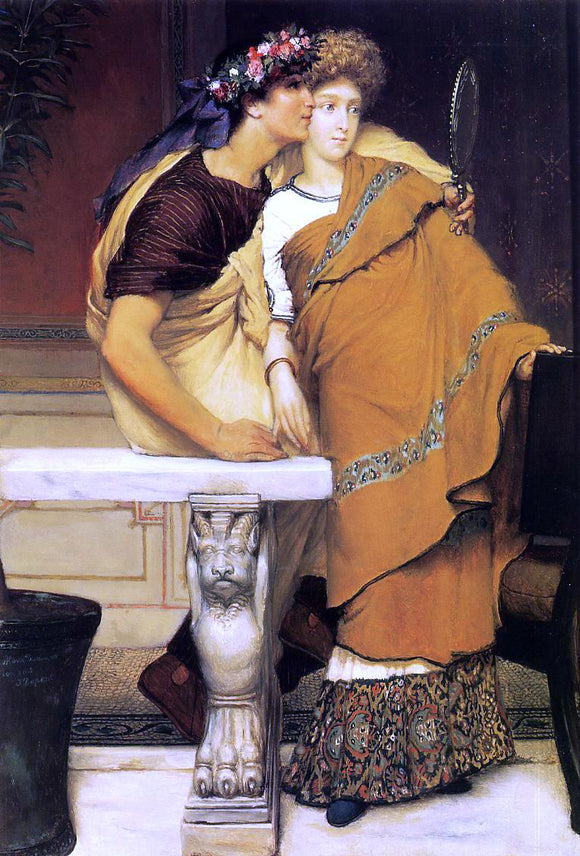 Sir Lawrence Alma-Tadema The Honeymoon - Canvas Art Print