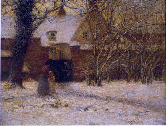 Henri Le Sidaner The House - Canvas Art Print