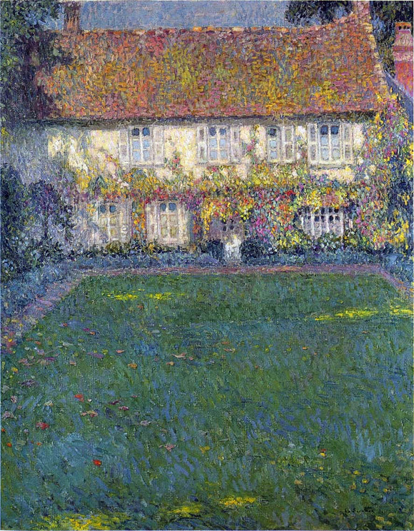 Henri Le Sidaner The House in Autumn - Canvas Art Print
