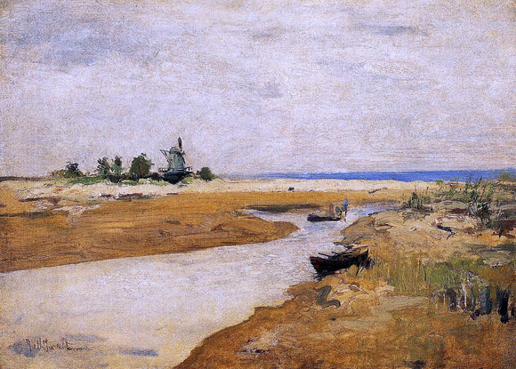 John Twachtman The Inlet - Canvas Art Print
