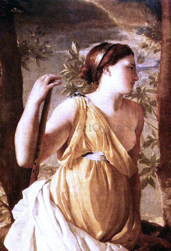 Nicolas Poussin The Inspiration of the Poet (detail) - Canvas Art Print