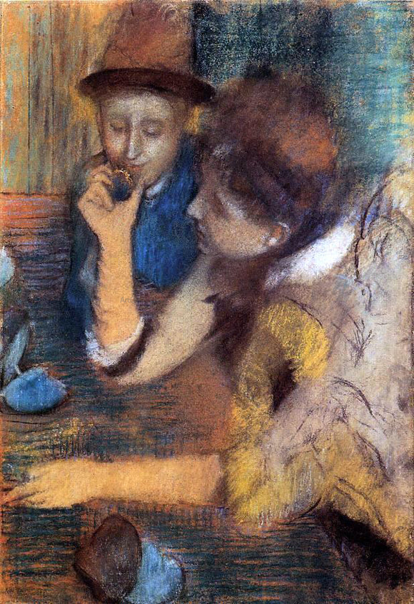 Edgar Degas The Jewels - Canvas Art Print