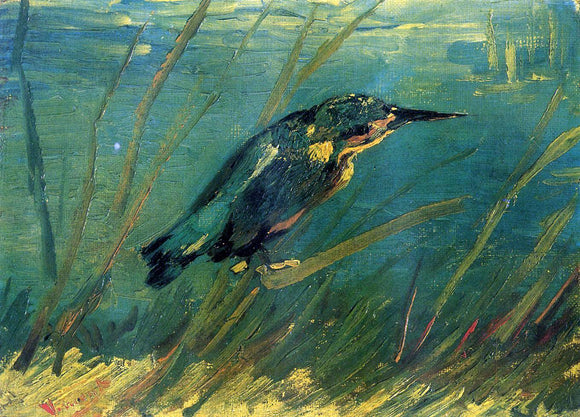 Vincent Van Gogh The Kingfisher - Canvas Art Print