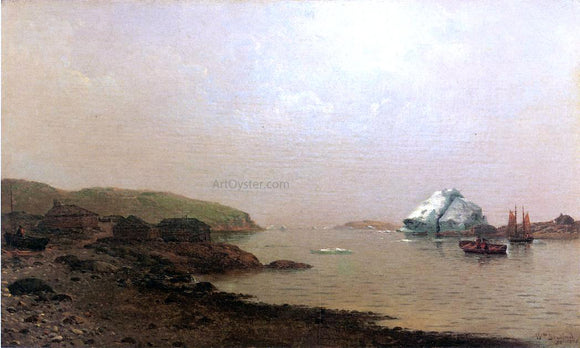 William Bradford The Labrador Coast - Canvas Art Print