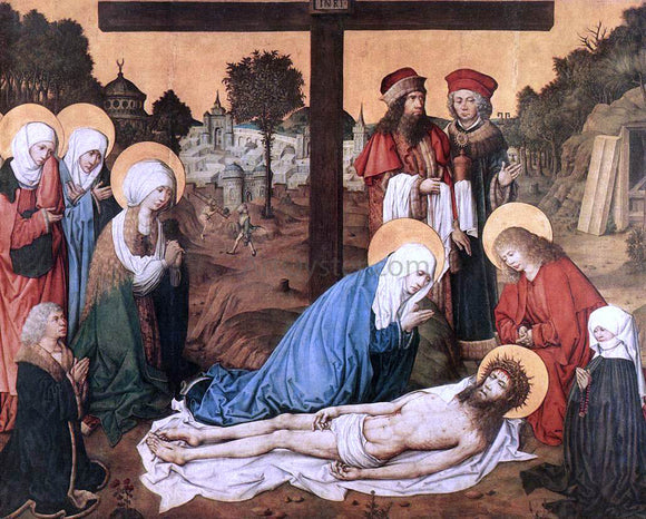Master the Housebook The Lamentation of Christ - Canvas Art Print