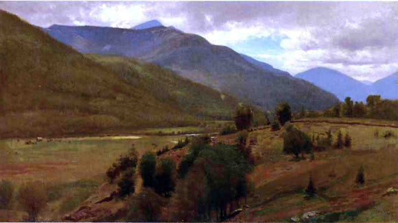 William M Hart The Land, Keene Valley - Canvas Art Print