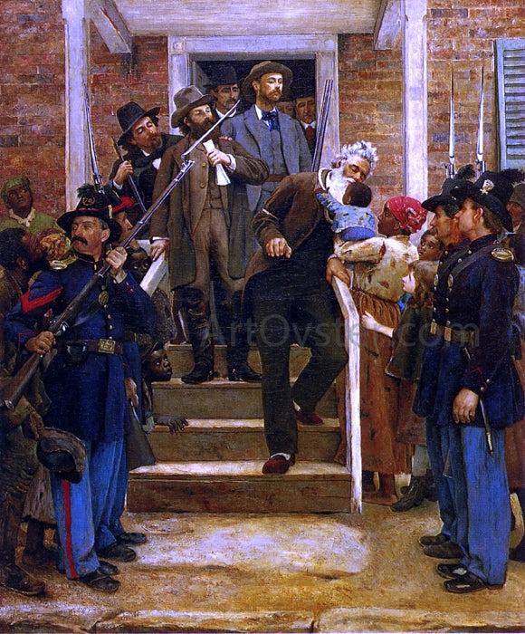 Thomas Hovenden The Last Moments of John Brown - Canvas Art Print