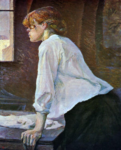 Henri De Toulouse-Lautrec The Laundress - Canvas Art Print