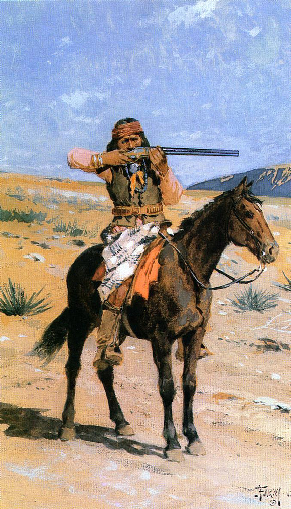 Henry F Farney A Long Shot - Canvas Art Print