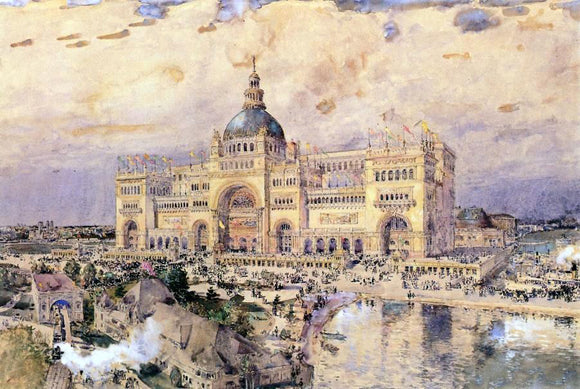 Frederick Childe Hassam The Mackaye Spectatorium - Canvas Art Print
