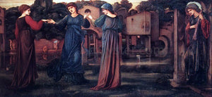 Sir Edward Burne-Jones The Mill - Canvas Art Print