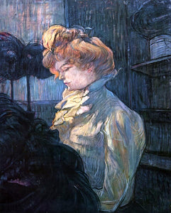Henri De Toulouse-Lautrec The Milliner - Canvas Art Print